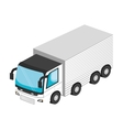 Vehicle transport isolated 3d icon vector image vector image