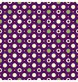 violet vintage pattern vector image vector image
