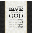 bible quote for print or use as poster vector image vector image