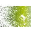 green grunge background vector image vector image