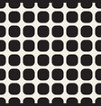monochrome seamless geometric pattern vector image vector image