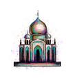 muslim mosque islam vector image vector image