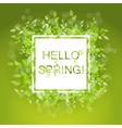 Spring abstract background vector image vector image
