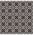 tangled pattern with quatrefoils vector image vector image