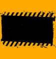 abstract yellow and black empty grunge background vector image vector image