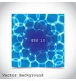 blue bubbles vector image vector image
