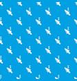 cursor pattern seamless blue vector image vector image