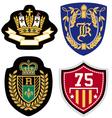 Emblem badge set vector image
