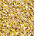 geometric abstract backgrounds autumn palette vector image vector image