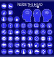 inside the heads 50 icon set