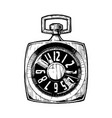 pocketwatch vector image