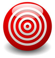 red target bullseye accuracy precision icon