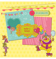 Scrapbook Design Elements - Birthday Party Child vector image vector image