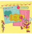 Scrapbook Design Elements - Birthday Party Child vector image vector image
