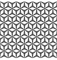 seamless pattern with linear figures triangles vector image vector image