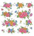 floral design roses vector image