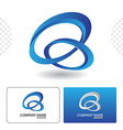 Icon Design with Business Card Template vector image