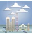 Architectural design vector image