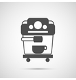 Coffee design Coffeemaker icon vector image
