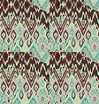 Colored seamless ethnic print pattern abstract vector image vector image
