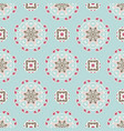 cute geometric seamless wallpaper tiles vector image vector image