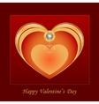 Heart jewelry vector image