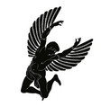 icarus with wings vector image