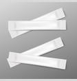 white stick packs foil bags sachet for packaging vector image vector image