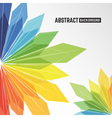 abstract colorful crystal background vector image vector image