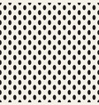 black dots on white background vector image vector image