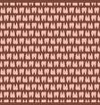 cartoon alpaca llamas hoof print seamless pattern vector image