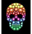 Gem Skull vector image vector image