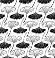 leaf gingko sketch doodle set 2 white vector image vector image
