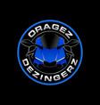 motosport logo vector image vector image