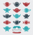 Retro badges and labels vector | Price: 1 Credit (USD $1)