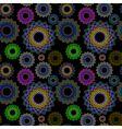 seamless geometrics vector image vector image
