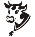 Smiling cow portrait vector | Price: 1 Credit (USD $1)