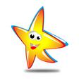 star mascot vector image vector image