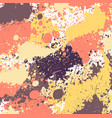 grunge splashes background vector image vector image