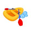 icon boat vector image vector image