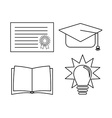 school concept design vector image