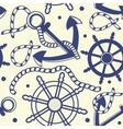 Seamless pattern with anchors vector | Price: 1 Credit (USD $1)