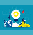 solution business people and teamwork concept vector image