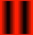vertical red shades stripes seamless print vector image vector image