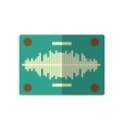 audio console professional icon vector image vector image