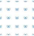 bow icon pattern seamless white background vector image vector image