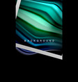 liquid fluid colors holographic design with vector image