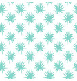 palm leaf brush seamless pattern vector image