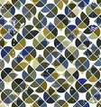 Seamless aged tiles abstract background background vector image