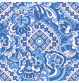 seamless ceramic tile design motif pattern vector image vector image